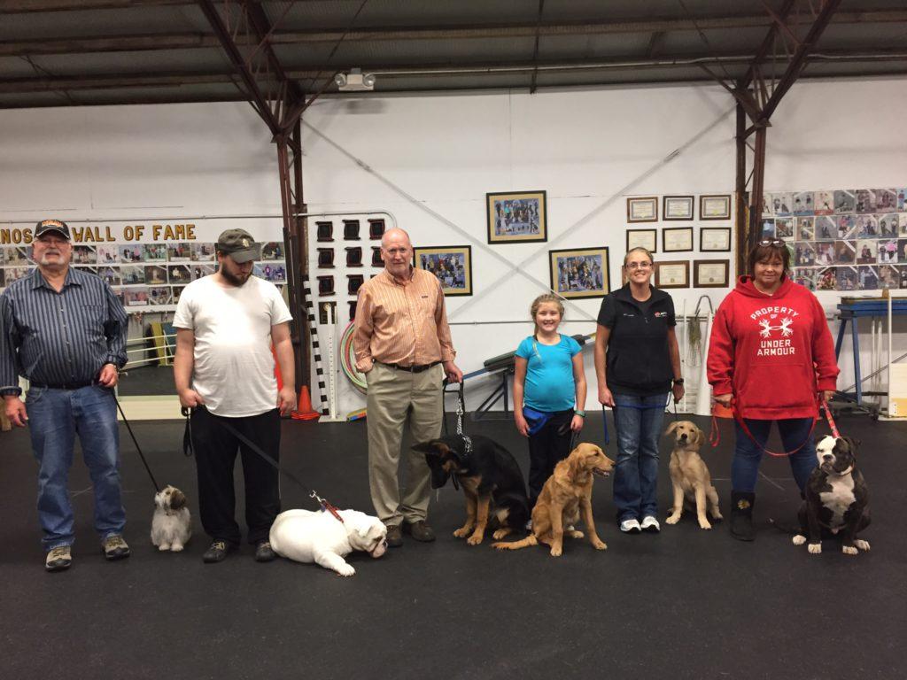 6pm Puppy Class (December 2017)