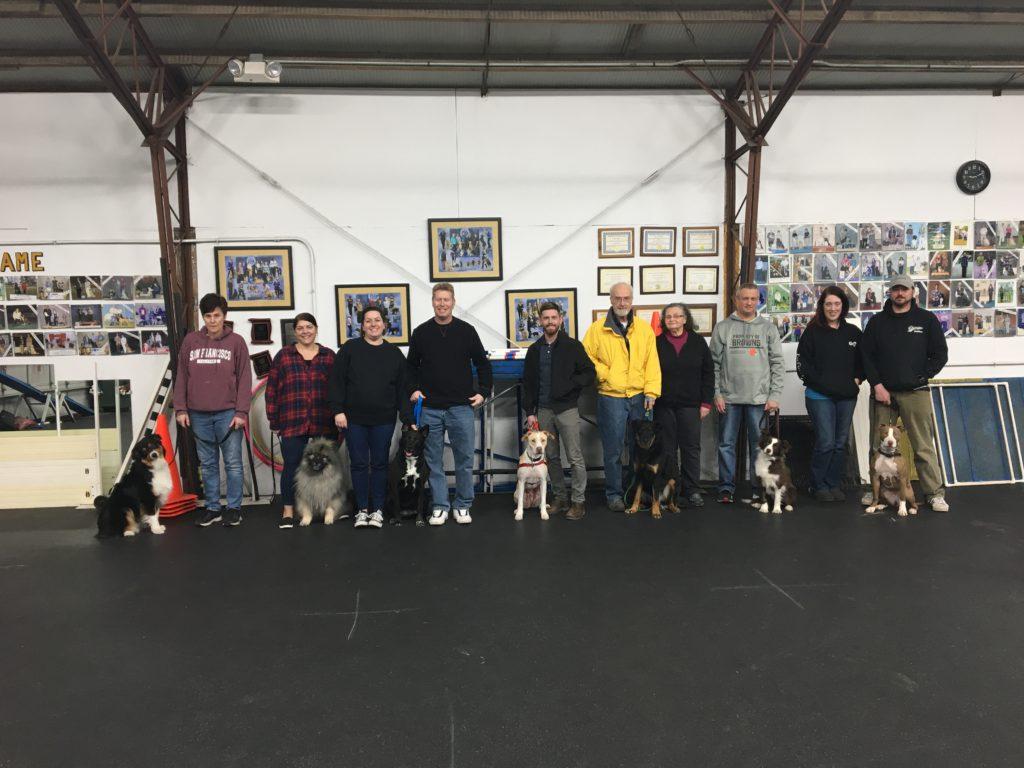 Beginner Class Graduates 03/19/2019