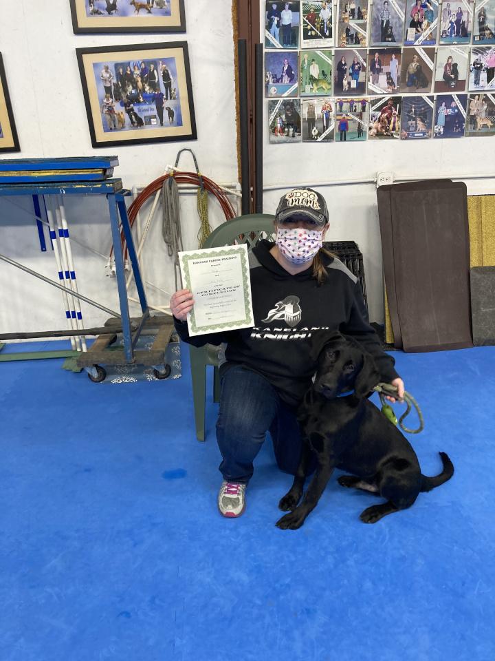 Puppy Graduates (Dec 2020)