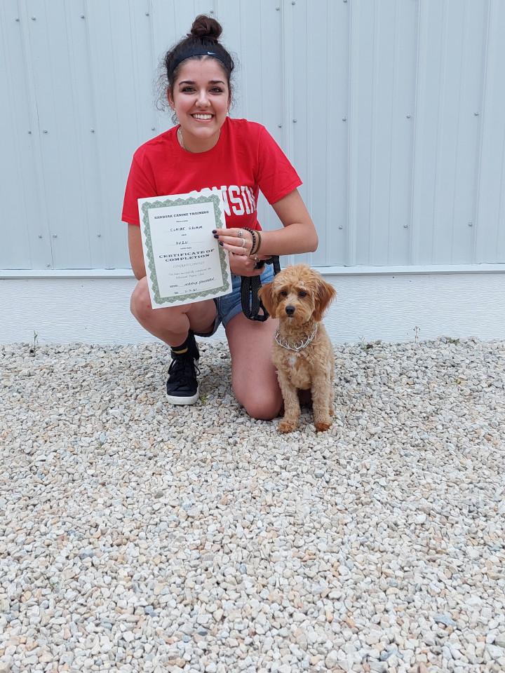Advanced Puppy Graduates - July 2021