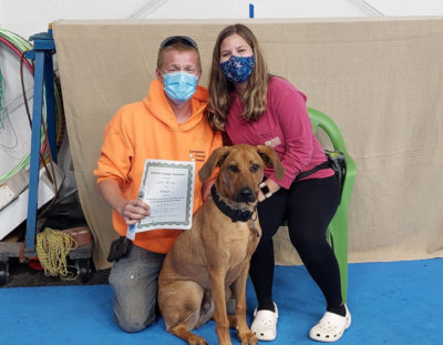 Congratulations to the September Advanced Puppy and Novice Trick Graduates